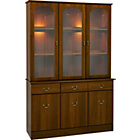 more details on New Dorchester 3 Door Glass Display Cabinet.