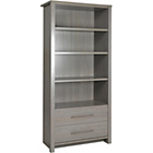 more details on Loire Smoky Oak Effect Large Bookcase.