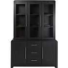 more details on Strand 3 Door Display Cabinet - Black.