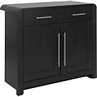 more details on Strand 2 Door 1 Drawer Sideboard - Black.
