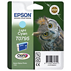 more details on EPSON OWL T0795 LIGHT CYAN INK