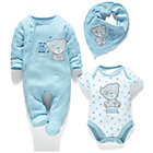 more details on Carte Blanch Baby Tatty Teddy Gift Set Blue - Newborn.