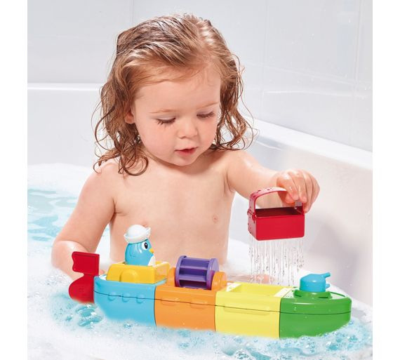 buy tomy mix and match motor boat at your online shop for baby bath toys and books. Black Bedroom Furniture Sets. Home Design Ideas