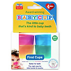more details on Babycup Baby and Toddler First Cup - 4-Pack Multicoloured.