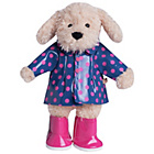more details on Chad Valley Designabear Rain Coat Outfit.