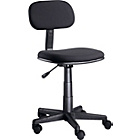 more details on Gas Lift Height Adjustable Office Chair - Black.