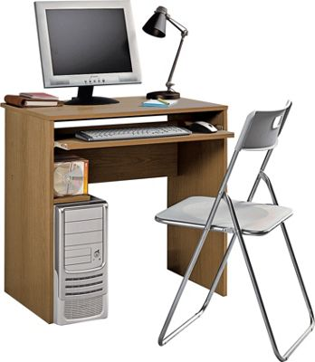 Buy Office Desk And Chair Set Oak Effect At Argos Co Uk