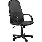 Parker Gas Lift Adjustable Manager's Office Chair - Black