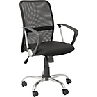 more details on Gas Lift Mesh Mid Back Office Chair - Black.