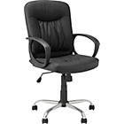 more details on HOME Deluxe Gas Lift Manager's Office Chair - Black.