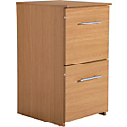 more details on Argos Value Range 2 Drawer Filing Cabinet - Oak Effect.