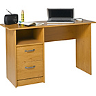 more details on Dalton Office Desk - Oak Effect.