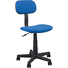 more details on Gas Lift Height Adjustable Office Chair - Blue.