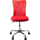 more details on Reade Mesh Gas Lift Adjustable Office Chair - Red.