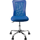 Reade Mesh Gas Lift Adjustable Office Chair - Blue