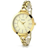 Seksy Embrace 2071 Analogue Display Women's Quartz Watch (Gold )