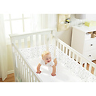more details on BreathableBaby Mesh Cot Full Wrap - Twinkle Twinkle.