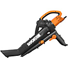 more details on Worx Corded WG505 TriVac Garden Blower and Vacuum.