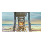 more details on Collection Sunset Pier Canvas.
