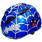 more details on Coyote Kids Spider Small Bike Helmet 48-52cm - Blue.