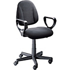 Blake Gas Lift Height Adjustable Office Chair - Black