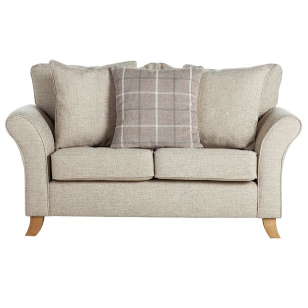 Buy Collection Kayla 2 Seater Fabric Sofa Beige At Argos
