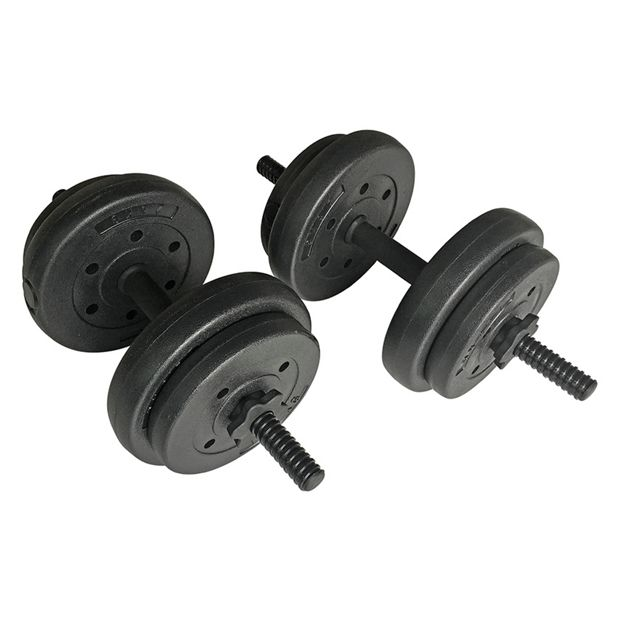 Buy Opti 15 Kg Vinyl Dumbbell Set at Argos.co.uk - Your ...