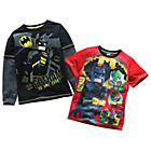 more details on Lego Batman 2 Pack of Boys' T-Shirts - 5-6 Years.
