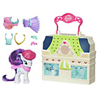 more details on My Little Pony Friendship is Magic Rarity Dress Shop Playset