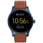 more details on Fossil Q Marshal Brown Leather Strap Watch.