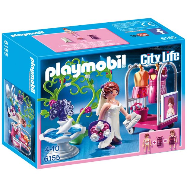 buy playmobil 6155 city life bridal photoshoot at. Black Bedroom Furniture Sets. Home Design Ideas
