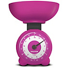 more details on Salter Mechanical Orb Kitchen Scale - Pink.