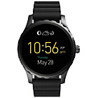 more details on Fossil Q Marshal Black Silicone Strap Watch.