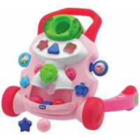 Chicco Baby Steps Activity Walker (Pink)