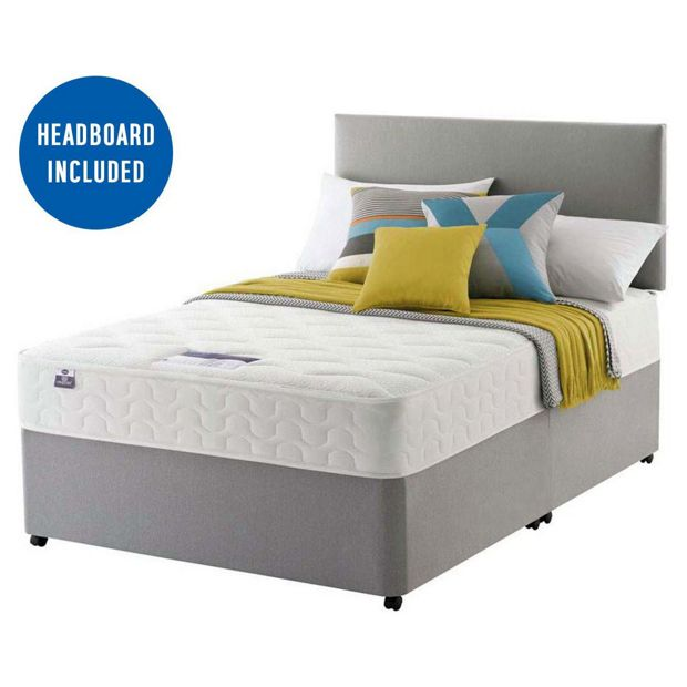 Buy Silentnight Hutton Pocket Memory Divan Double At Your Online Shop For Divan