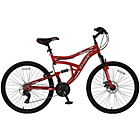 more details on Cross DXT300 Dual Suspension 26 Inch Bike - Mens