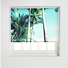 more details on HOME Palm Tree Daylight Roller Blind - 3ft.