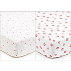 more details on BreathableBaby 2 Cot Bed Sheets - English Garden.