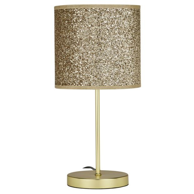 Argos Wall Lamp Shades : Buy HOME Sparkling Table Lamp - Gold at Argos.co.uk - Your Online Shop for Table lamps, Lighting ...