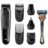 Braun MGK3060 8 in 1 Beard and Hair Trimming Multi Grooming Kit