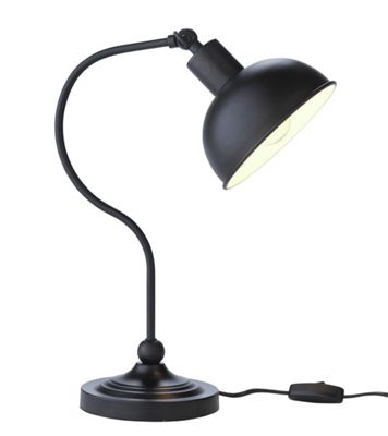 Desk Lamp Argos Buy HOME Coral Curved Table Lamp - Black at Argos.co.uk ...
