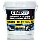 more details on GripIt Fixings Tub Of 100 15mm - Yellow.