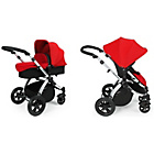 more details on Ickle Bubba V2 2 in 1 Pushchair - Red and Silver.