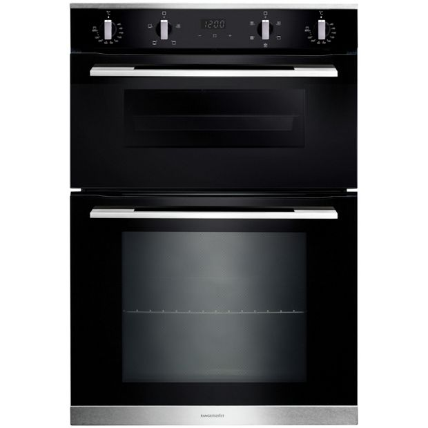 Buy Rangemaster 9045 Double Electric Cooker Black At Your Online Shop For Built