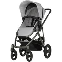 Britax Smile Pushchair & Carry Cot (Silver)