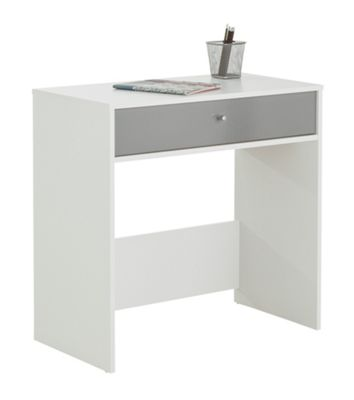 Buy Home Gloss Front Compact Laptop Desk White At Argos