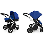 more details on Ickle bubba Stomp V2 2-in-1 Pushchair - Blue.