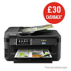 more details on Epson WorkForce 7610WF A3 Printer and Fax.