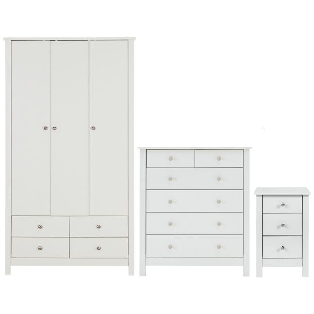 buy collection osaka 3 piece bedroom furniture package