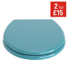 more details on ColourMatch Toilet Seat - Teal.